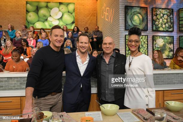 THE CHEW Actor Patrick Wilson is the guest Wednesday January 10 2018 on ABC's 'The Chew' 'The Chew' airs MONDAY FRIDAY on the ABC Television Network...