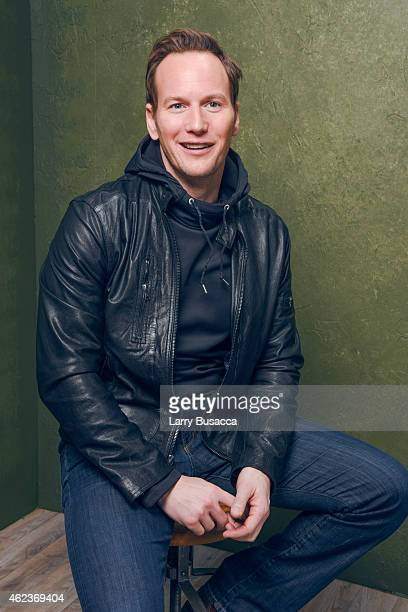 Actor Patrick Wilson of Zipper poses for a portrait at the Village at the Lift Presented by McDonald's McCafe during the 2015 Sundance Film Festival...