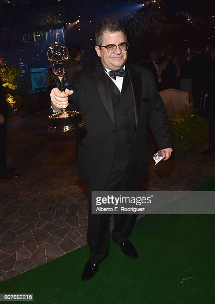 Actor Patton Oswalt attends the 68th Annual Primetime Emmy Awards Governors Ball at Microsoft Theater on September 18, 2016 in Los Angeles,...