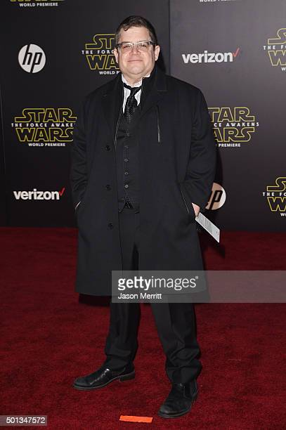 Actor Patton Oswalt attends the premiere of Walt Disney Pictures and Lucasfilm's Star Wars The Force Awakens at the Dolby Theatre on December 14th...