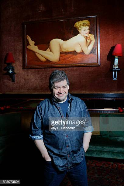 Actor Patton Oswalt is photographed for Los Angeles Times on March 24 2016 in Los Angeles California PUBLISHED IMAGE CREDIT MUST READ Jay L...