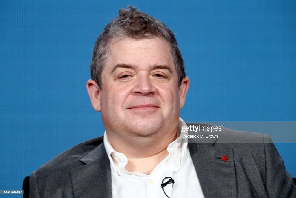 Actor Patton Oswalt of 'A.P. Bio' speaks onstage during the NBCUniversal portion of the 2018 Winter Television Critics Association Press Tour at The Langham Huntington, Pasadena on January 9, 2018 in Pasadena, California.