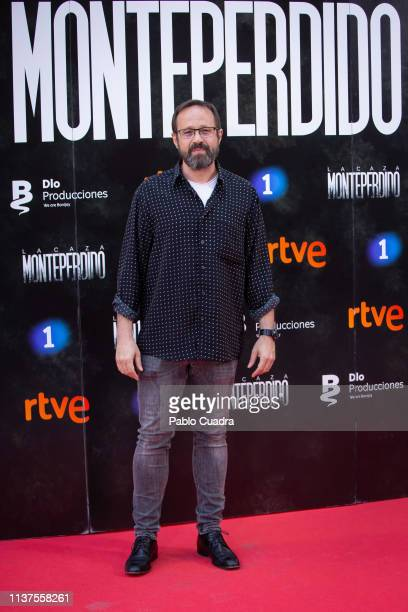 Actor Patxi Freytez attends the 'La Caza Monteperdido' photocall on March 22 2019 in Madrid Spain