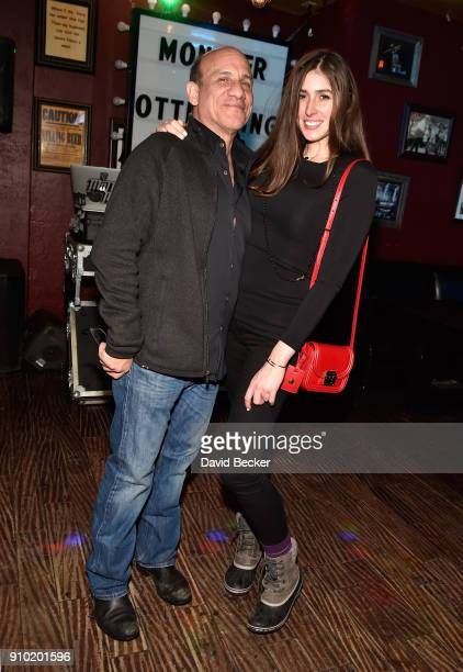 Actor Paul BenVictor and Cali Senkpiel attend Red Crown Productions celebrates 'Monster' presented by Tubefilter and OTT Lending at Rock Reilly's...