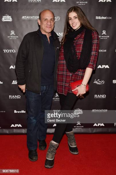 Actor Paul BenVictor and Cali Senkpiel attend the APA reception at the RAND Luxury Escape during the 2018 Sundance Film Festival at The St Regis Deer...