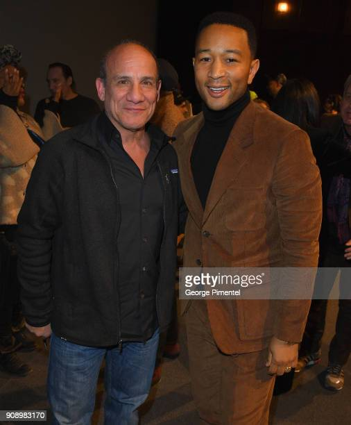 Actor Paul BenVictor and singerSongwriter/ producer John Legend attends the 'Monster' Premiere during the 2018 Sundance Film Festival at Eccles...