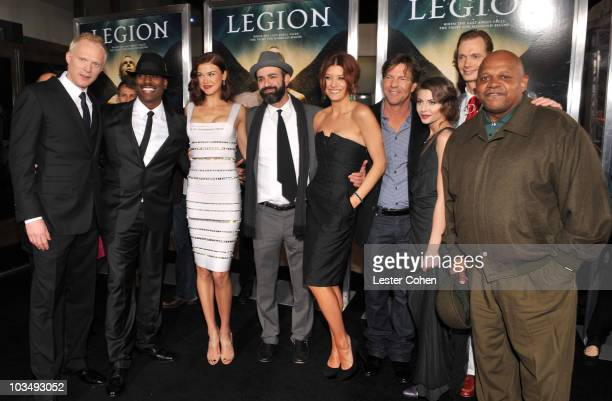 Actor Paul Bettany, actor/model Tyrese Gibson, actress Adrianne Palicki, director Scott Stewart, actress Kate Walsh, actor Dennis Quaid, actress...