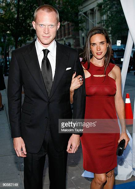Actor Paul Bettany and actress Jennifer Connelly arrive at the PreOpening Night Gala Reception held at Roy Thomson Theatre on September 10 2009 in...