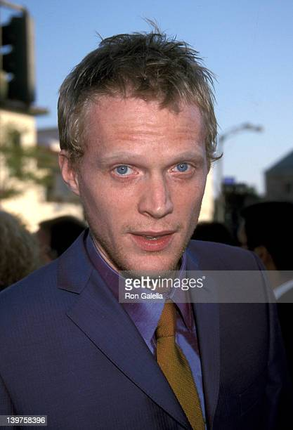 Actor Paul Bettany attends the premiere of 'A Knight's Tale' on May 8 2001 at Mann Village Theater in Westwood California