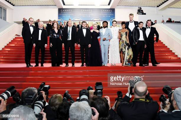 Actor Paul Bettany director Ron Howard producer Kathleen Kennedy actors Woody Harrelson Alden Ehrenreich Emilia Clarke Donald Glover Phoebe...