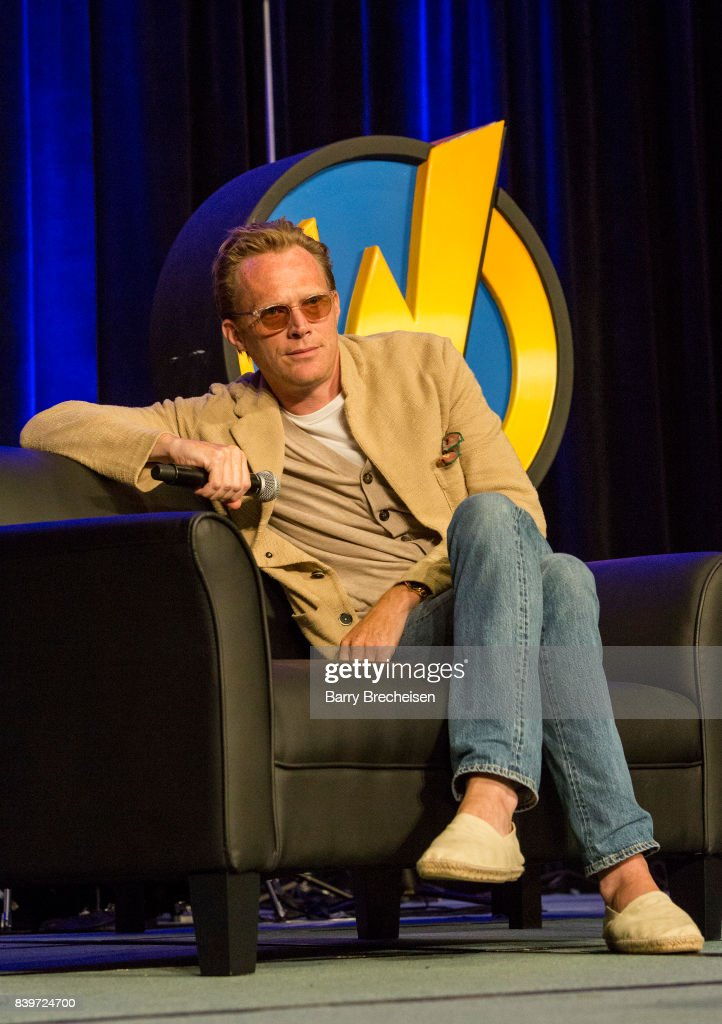 Actor Paul Bettany during the Wizard World Chicago Comic-Con at Donald E. Stephens Convention Center on August 26, 2017 in Rosemont, Illinois.