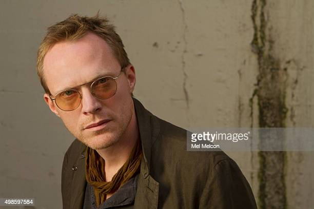 Actor Paul Bettany is photographed for Los Angeles Times on November 6 2015 in Los Angeles California PUBLISHED IMAGE CREDIT MUST READ Mel Melcon/Los...