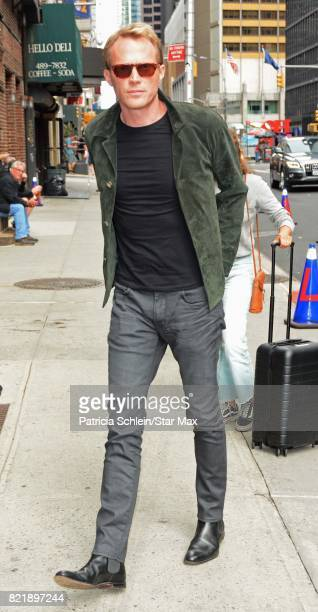 Actor Paul Bettany is seen on July 24 2017 in New York City