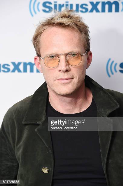 Actor Paul Bettany Visits Siriusxm Studios On July 24 2017 In New York City