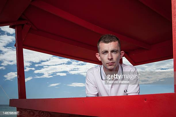 Actor Paul Brannigan is photographed for The Hollywood Reporter on May 23 2012 in Cannes France
