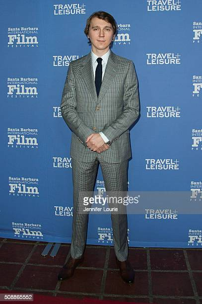Actor Paul Dano arrives for the presentation of the Virtuoso's Award for The 31st Santa Barbara International Film Festival at the Arlington Theatre...