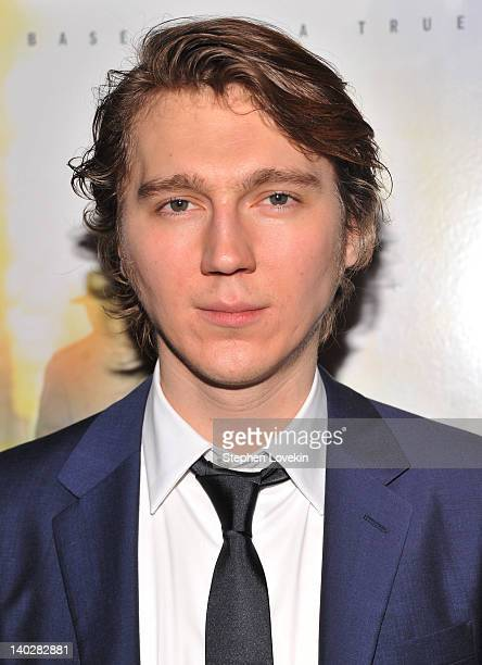 Actor Paul Dano attends a screening of Being Flynn at the Tribeca Grand Screening Room on March 1 2012 in New York City