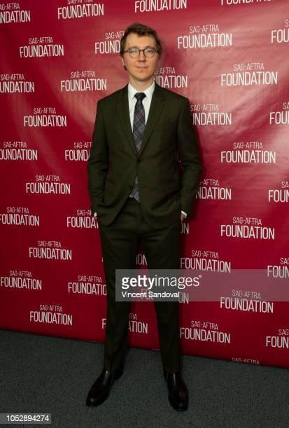 Actor Paul Dano attends SAGAFTRA Foundation Conversations screening of Wildlife at SAGAFTRA Foundation Screening Room on October 9 2018 in Los...