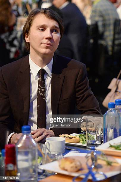 Actor Paul Dano attends the 2016 Film Independent Spirit Awards on February 27 2016 in Santa Monica California
