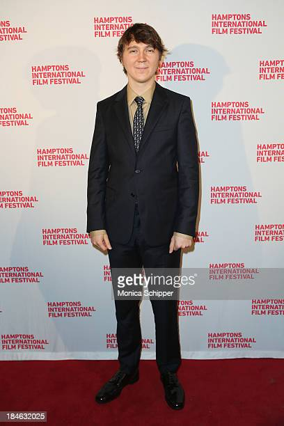 Actor Paul Dano attends the 21st Annual Hamptons International Film Festival Closing Day on October 14, 2013 in East Hampton, New York.