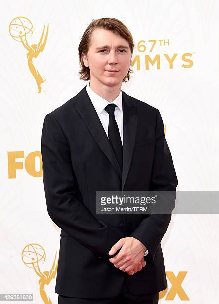 Actor Paul Dano attends the 67th Annual Primetime Emmy Awards at Microsoft Theater on September 20 2015 in Los Angeles California