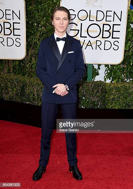 Actor Paul Dano attends the 73rd Annual Golden Globe Awards held at the Beverly Hilton Hotel on January 10 2016 in Beverly Hills California