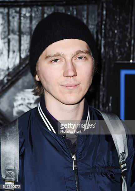 Actor Paul Dano attends the 'Born To Be Blue' New York Screening at Blue Note Jazz Club on March 24 2016 in New York City