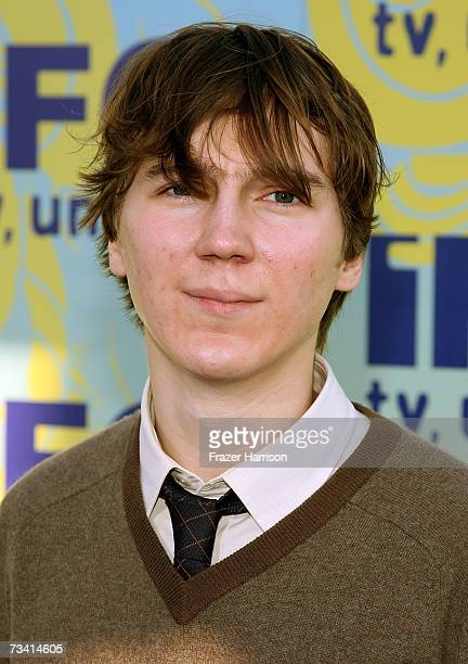 Actor Paul Dano attends the Independent Film Channel's 2007 Spirit Awards After Party held at Shutters on the Beach on February 24 2007 in Santa...