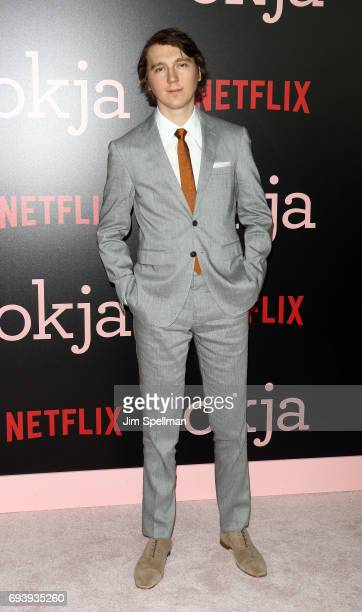 Actor Paul Dano attends The New York premiere of 'Okja' hosted by Netflix at AMC Lincoln Square Theater on June 8 2017 in New York City