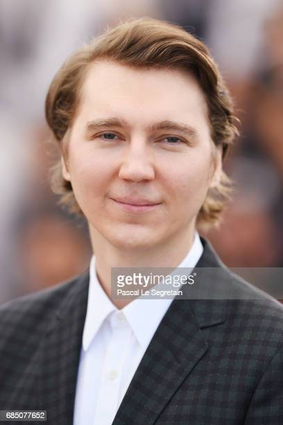 Actor Paul Dano attends the 'Okja' photocall during the 70th annual Cannes Film Festival at Palais des Festivals on May 19 2017 in Cannes France