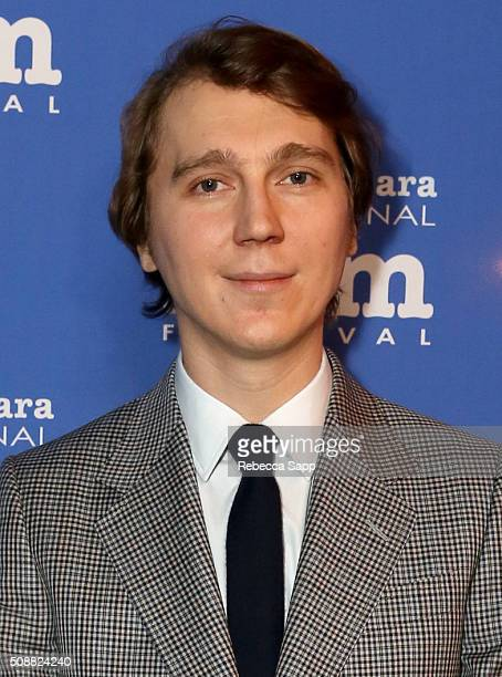 Actor Paul Dano attends the Virtuosos Award at the Arlington Theater at the 31th Santa Barbara International Film Festival on February 6 2016 in...