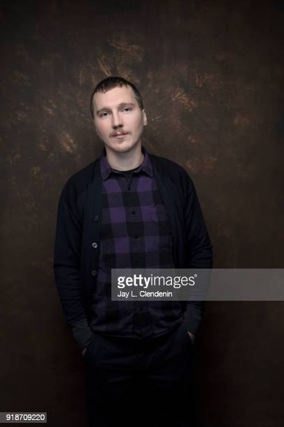 Actor Paul Dano from the film 'Wildflower' is photographed for Los Angeles Times on January 19 2018 in the LA Times Studio at Chase Sapphire on Main...