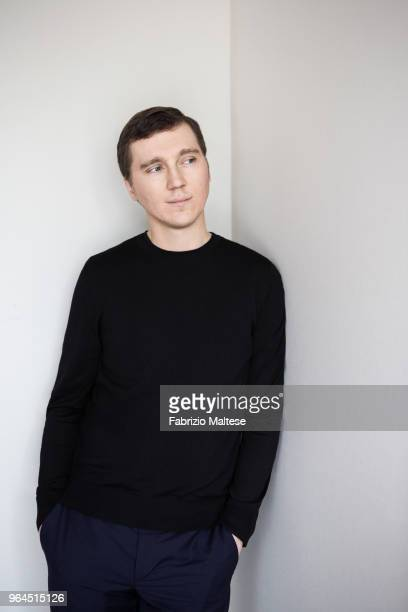 Actor Paul Dano is photographed for The Hollywood Reporter, on May, 2018 in Cannes, France. . .