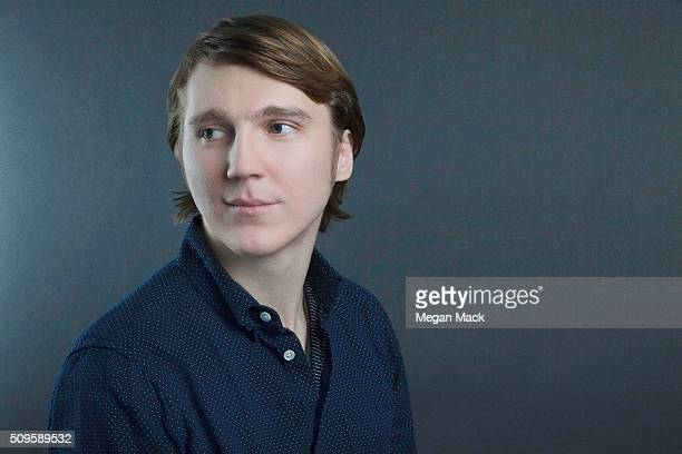 Actor Paul Dano is photographed for The Wrap on October 10 2015 in Los Angeles California