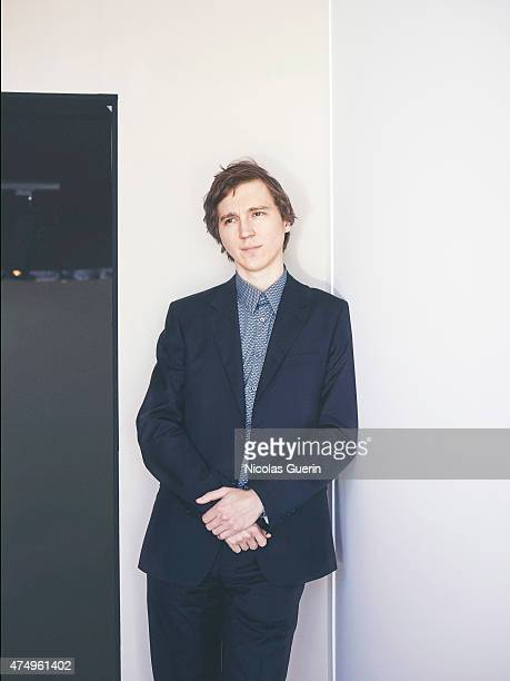 Actor Paul Dano is photographed on May 20 2015 in Cannes France