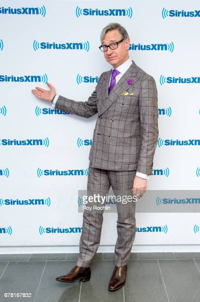 Actor Paul Feig vistis SiriusXM The Hoda Hotb Show at SiriusXM Studios on May 3 2017 in New York City