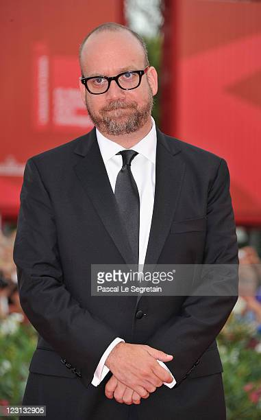 Actor Paul Giamatti attends The Ides Of March premiere during the 68th Venice Film Festival at the Palazzo del Cinema on August 31 2011 in Venice...