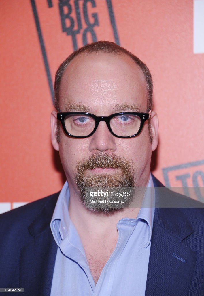 Actor Paul Giamatti attends the 'Too Big To Fail' New York Premiere at The Museum of Modern Art on May 16, 2011 in New York City.