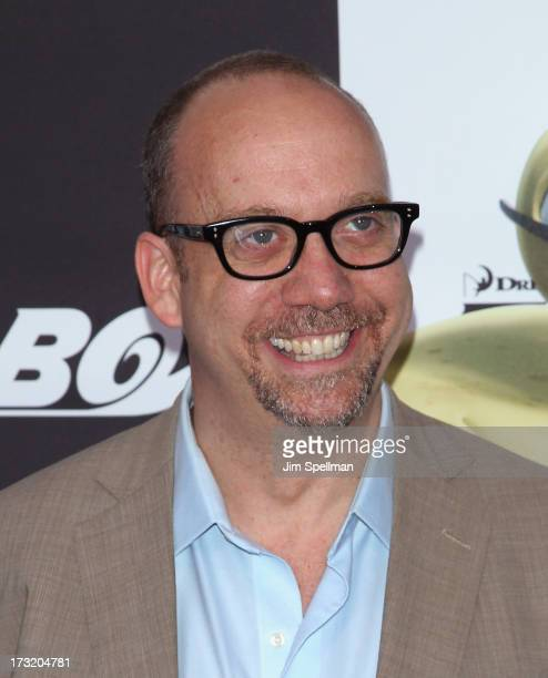"""Actor Paul Giamatti attends the """"Turbo"""" New York Premiere at AMC Loews Lincoln Square on July 9, 2013 in New York City."""