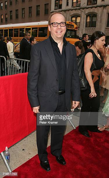 Actor Paul Giamatti attends Yari Film Group's premiere of The Illusionist at Chelsea West Cinemas August 15 2006 in New York City