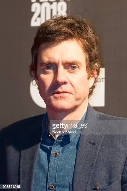 Actor Paul Higgins attends the World Premiere of 'The Party's Just Beginning' during the 14th Glasgow Film Festival at Glasgow Film Theatre on...