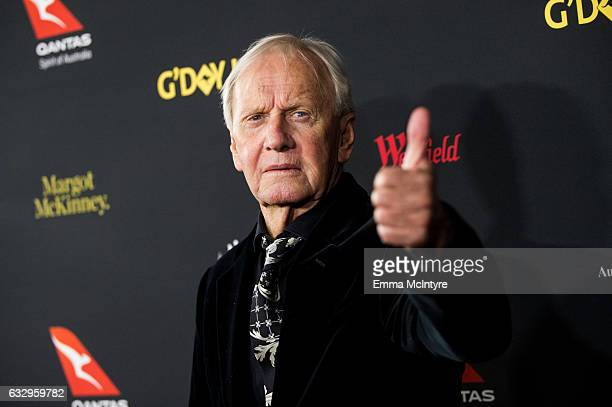 Actor Paul Hogan attends the 2017 G'Day Black Tie Gala at The Ray Dolby Ballroom at Hollywood Highland Center on January 28 2017 in Hollywood...