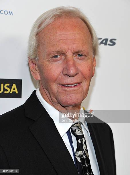 Actor Paul Hogan attends the G'Day USA Los Angeles Black Tie Gala at JW Marriott Hotel at LA LIVE on January 11 2014 in Los Angeles California