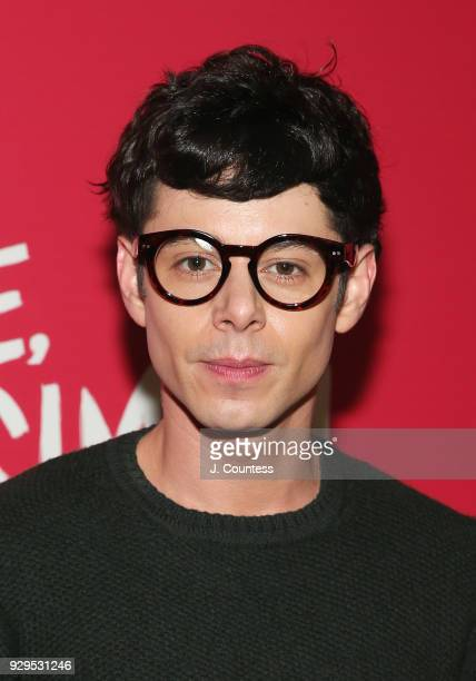 Actor Paul Iacono oses for a photo at the screening of 'Love Simon' hosted by 20th Century Fox Wingman at The Landmark at 57 West on March 8 2018 in...