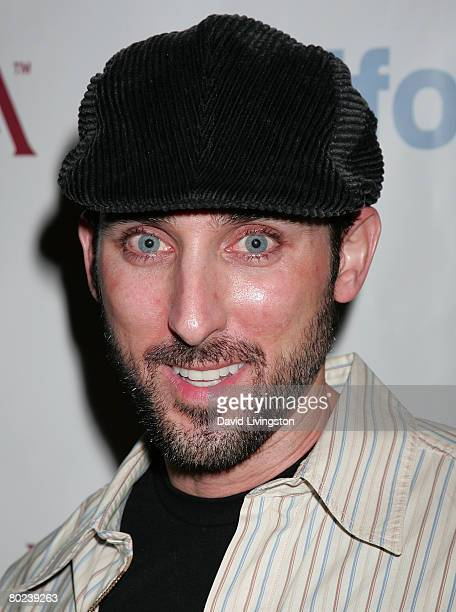 Actor Paul J Alessi attends the Li Cari LAFW Fall 2008 event at Poliform on March 13 2008 in West Hollywood California