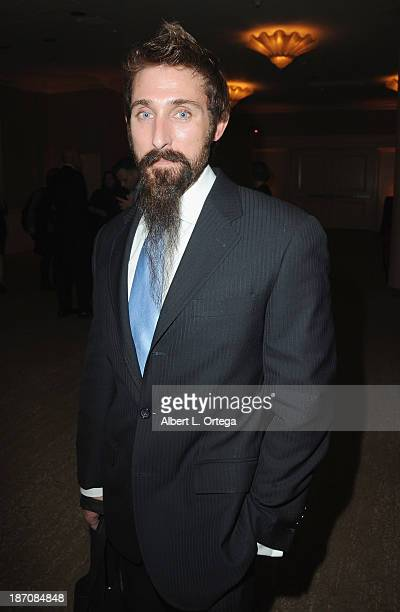 Actor Paul J Alessi participates in the Entertainment AIDS Alliance Hosts 16th Annual Visionary Awards held at The Beverly Hilton Hotel on November 5...