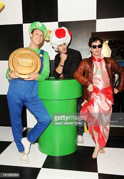 Actor Paul Lacono attends Nintendo's celebration of the launch of Super Mario 3D Land at Siren Studios on November 3 2011 in Hollywood California