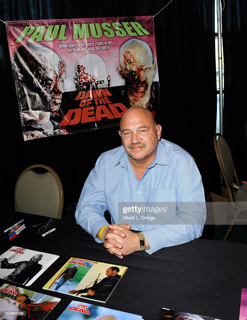 Actor Paul Musser attends Son Of Monsterpalooza held at Burbank Marriott Airport Hotel & Convention Center on October 27, 2012 in Burbank, California.