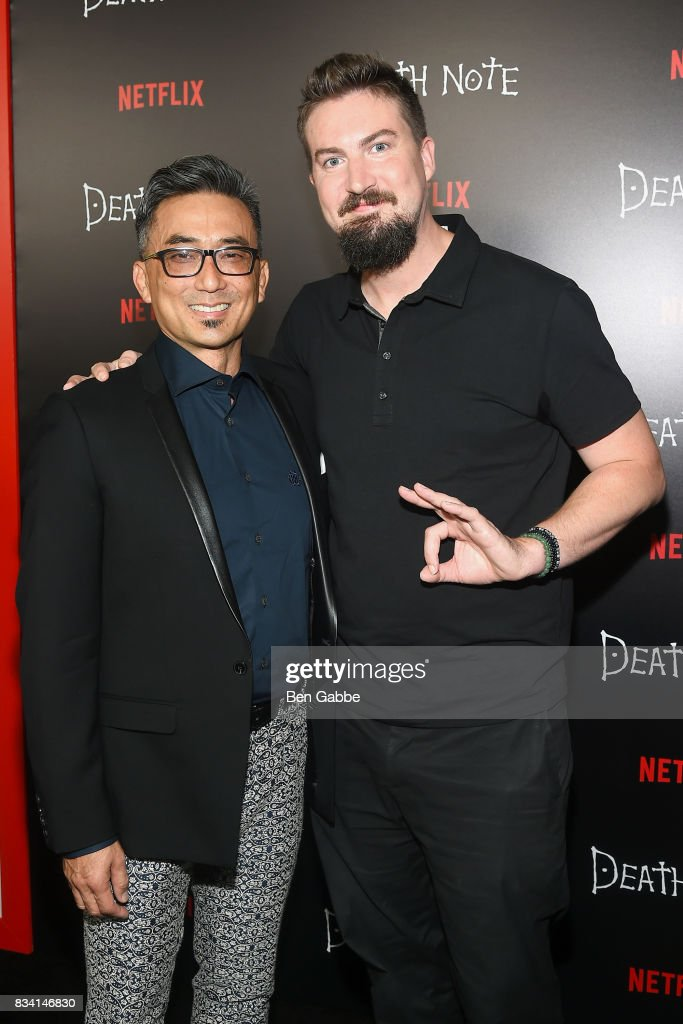 Actor Paul Nakauchi and director Adam Wingard attend the