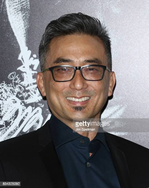 Actor Paul Nakauchi attends the Death Note New York premiere at AMC Loews Lincoln Square 13 theater on August 17 2017 in New York City